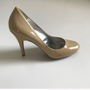 Jessica Simpson Nude Patent Heels ✅Offers Plz